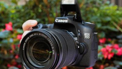 Gambar Foto Harga kamera DSLR Canon EOS 70D