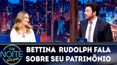 The Noite entrevista com Bettina Rudolph