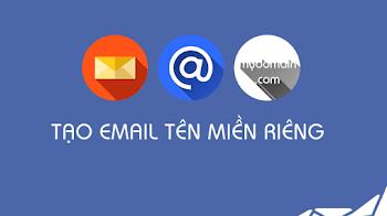 Tạo email theo tên miền riêng miễn phí bằng Yandex 2018