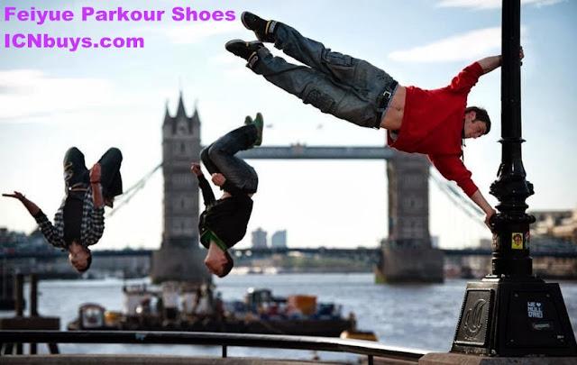cool parkour shoes