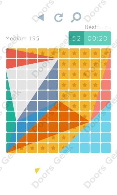 Cheats, Walkthrough for Blocks and Shapes Medium Level 195