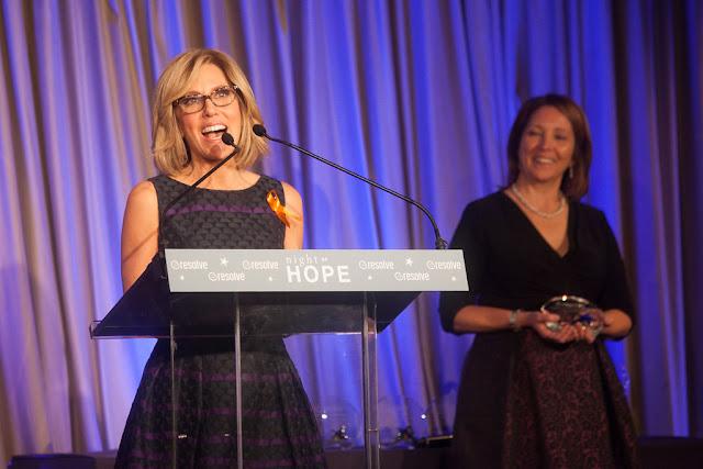 CNN Alisyn Camerota RESOLVE Night of Hope Gala