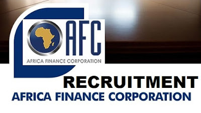 Africa Finance Corporation (AFC) 2017 Recruitment | Apply Here (Careers/Salary)