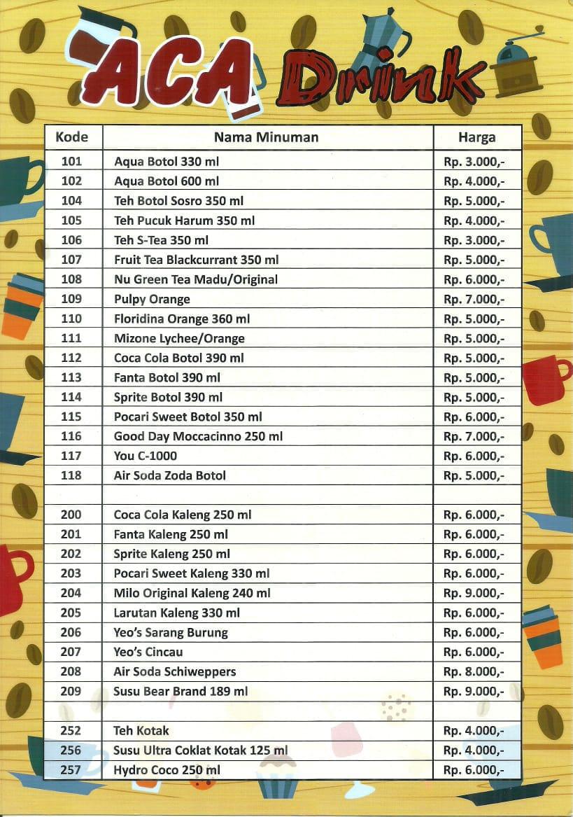 Daftar Harga Dan Menu Makanan Di Dapur Kayu Manis Condet Rinjani F B
