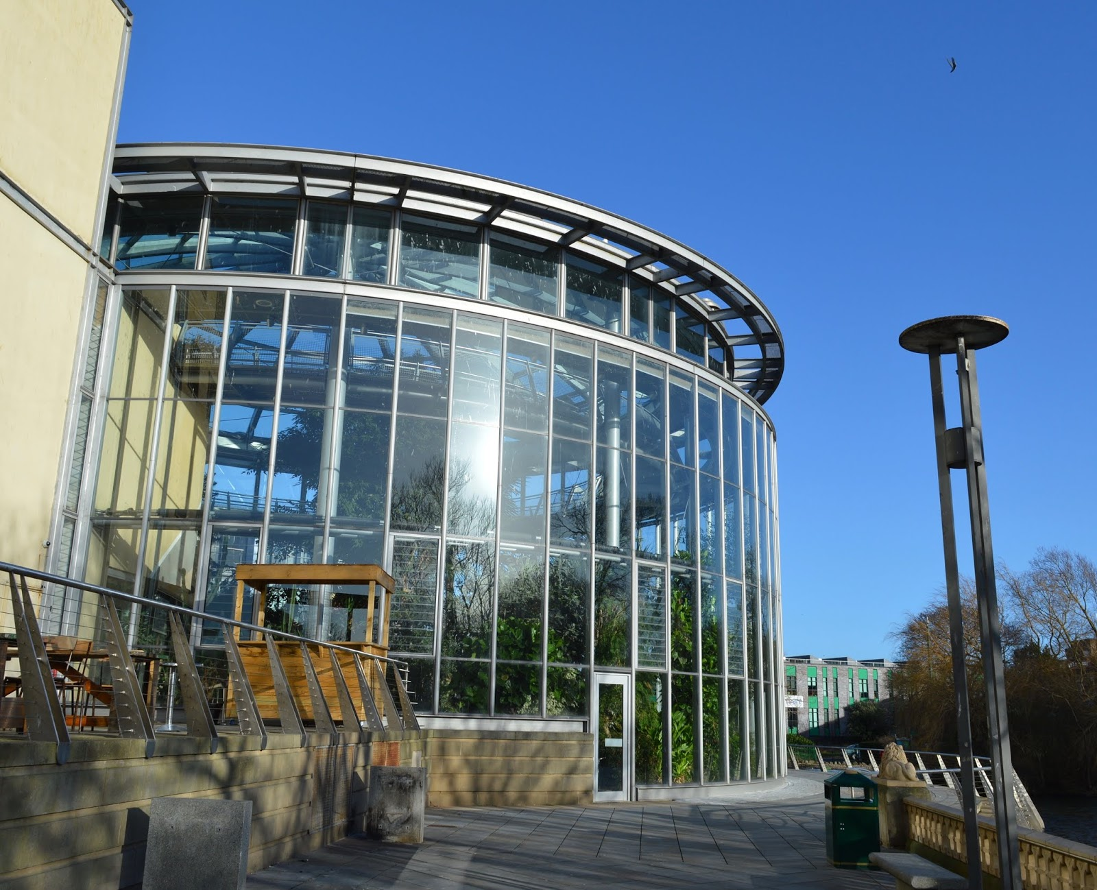 5 Reasons to Visit the Leonardo da Vinci: A Life in Drawing Exhibition at Sunderland Museum & Winter Gardens with Kids - winter gardens exterior