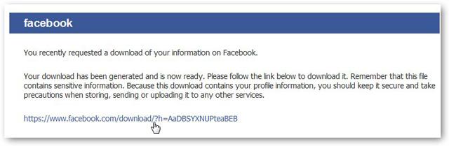 Link Download Data Arsip Facebook