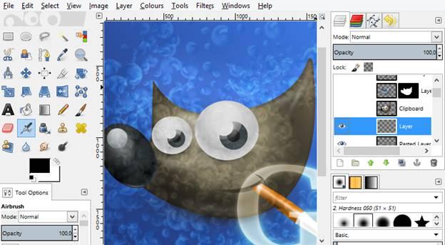 7 Software Gratis Terbaik Untuk Menggambar Di Komputer:GIMP
