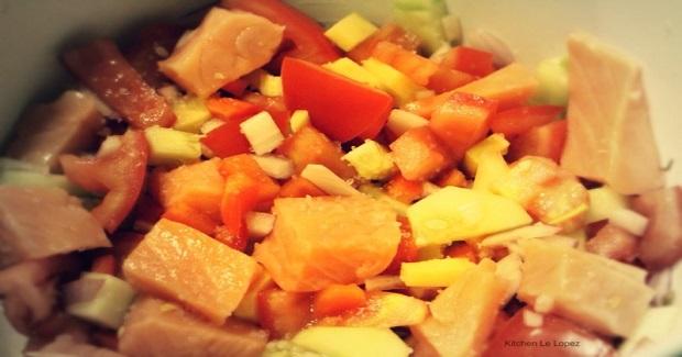 Salmon Kilawin Recipe
