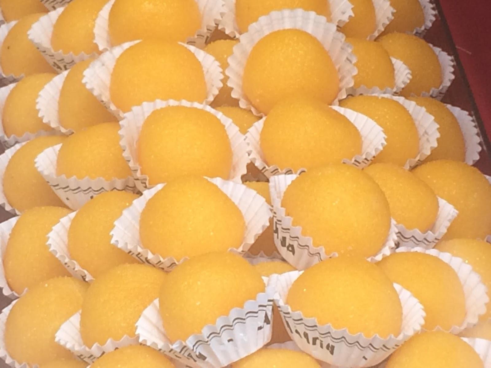Dulces de Yemas - Yemas de Avila ó Santa Teresa - La Cocina Del Sur