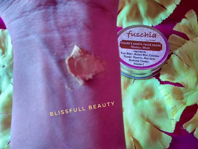 Fuschia fullers earth facemask review