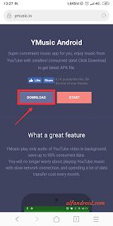 cara memutar musik youtube di background