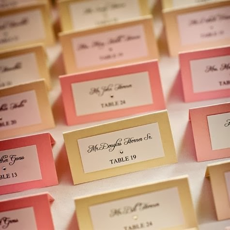 C Cream Or Your Choice Of Colors Place Cards Based Upon Food