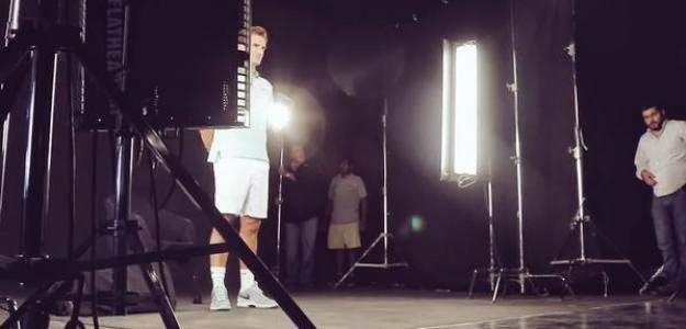El holograma de Federer se cuela en el Salón de la Fama