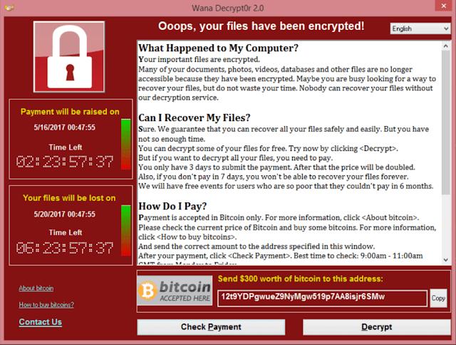 mã độc WannaCry