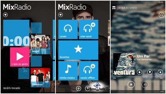 Aplicativos para Windows Phone