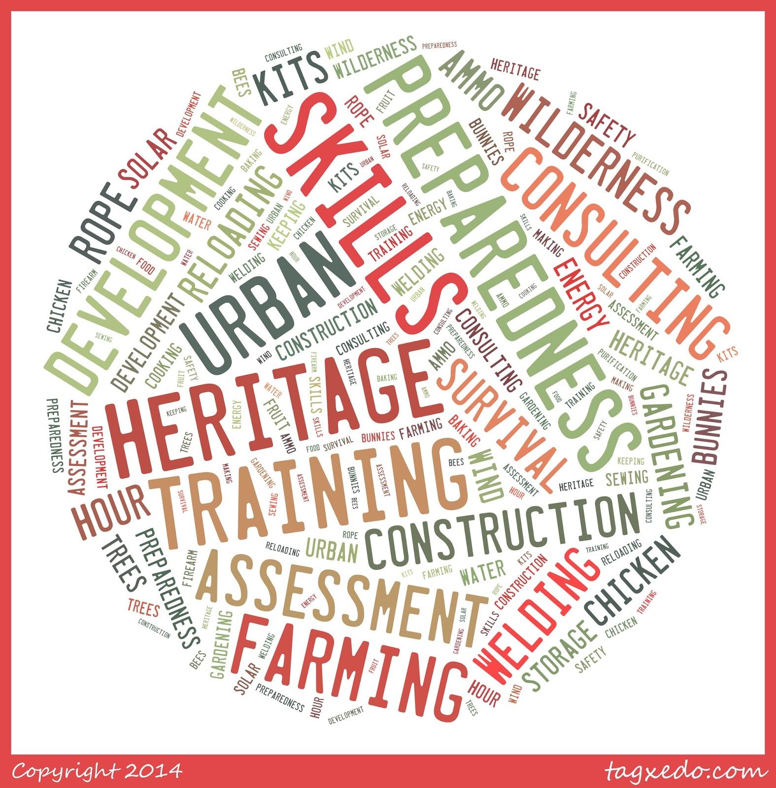 Heritage Skills Preparedness