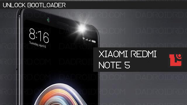 Cara Unlock Bootloader Xiaomi Redmi Note 5 terlengkap dan ampuh