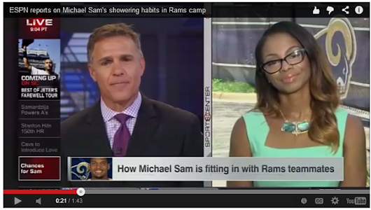 Michael Sam, the media and that shower question