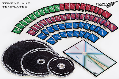 Full set of card templates and Scenario Object tokens