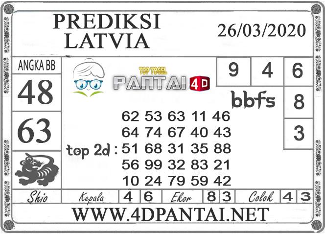 PREDIKSI TOGEL LATVIA PANTAI4D 26 MARET 2020