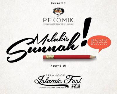 JEMPUTAN TERBUKA: Melukis di Selangor Islamic Fest @ Stadium Melawati, Shah Alam pada 30-31 Mei 2015