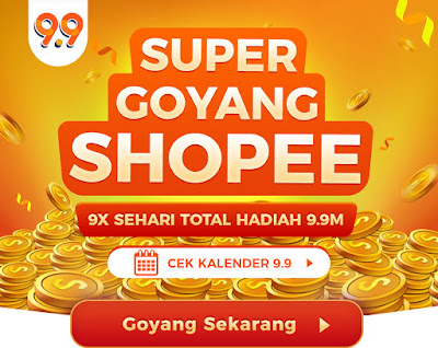 Happy Shopping! Shopee 9.9 Super Shopping Day