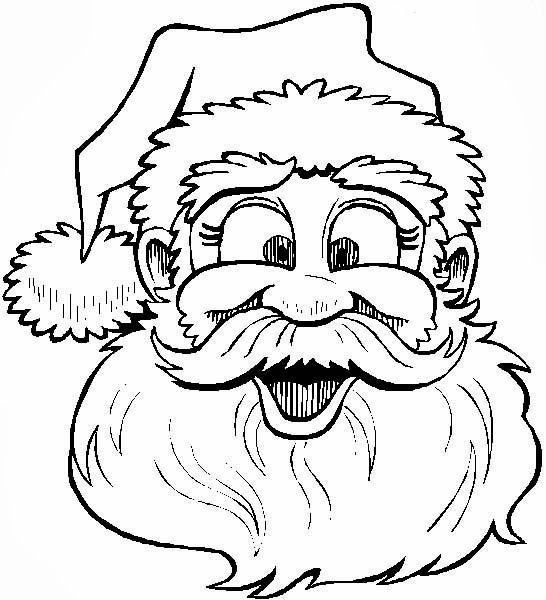 Desenhos : Desenhos Do Papai Noel Para Colorir E Imprimir