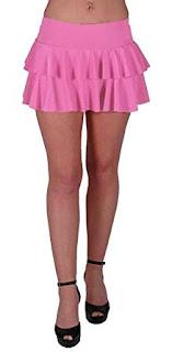 1983 Pink Ra Ra Skirt