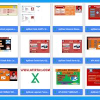 Aplikasi dan Administrasi Guru Lengkap Format Excel