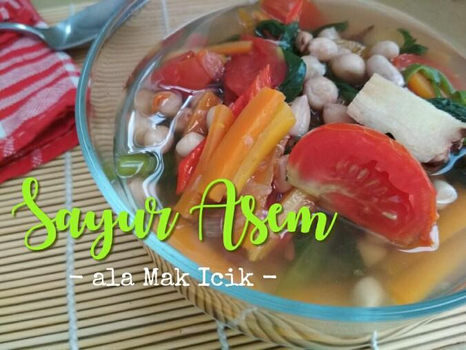 Resep sayur asem untuk buka puasa