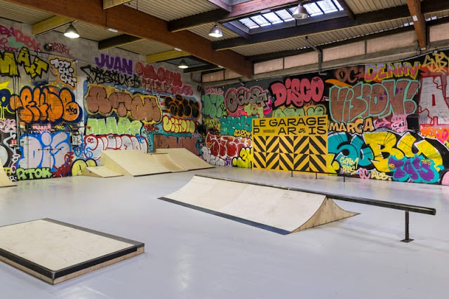 Le garage skatepark paris