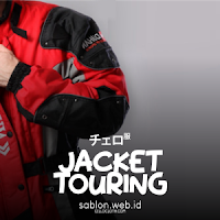 Custom Jacket Motor Touring Dolby Waterproof dan Body With Double Protector