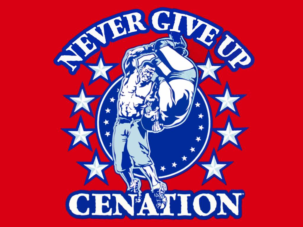 John Cena/Logos | Pro Wrestling | FANDOM powered by Wikia  |John Cena Logo Never Give Up 2014
