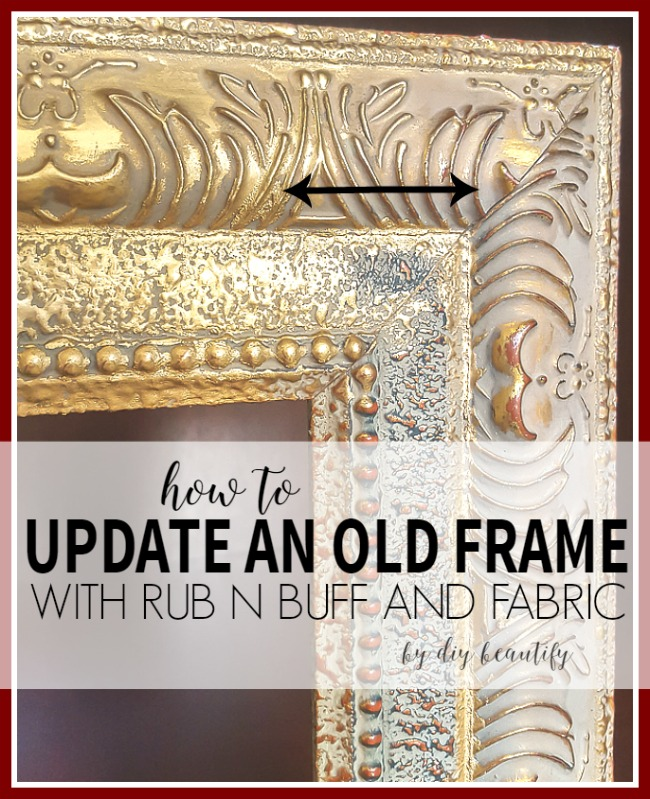 old frame makeover