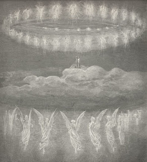 Illustration for Paradiso by Gustave Dore.