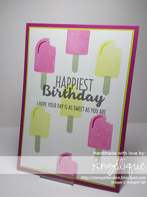 de Stempelkeuken Stampin' Up! materialen bestel je in Europa via stempelkeuken@gmail.com #cooltreats #frozentreats #icecream #berryburst #lemonlimetwist #ice #ijsjes #nederland #stampinup #stampinupnl #stempelkeuken #denhaag #westland #workshop #cardmaking #papercrafting #kaartjehoorterbij