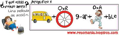 Jeroglífico, Jeroglíficos, Jeroglíficos escolares, Jeroglíficos con solución, Jeroglíficos para niños, Jeroglíficos para estudiantes