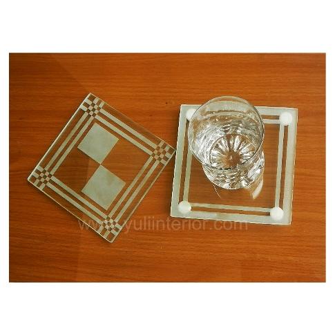 Glass Coasters Souvenirs Nigeria