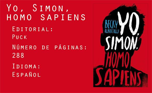 Datos yo, simon, homo sapiens