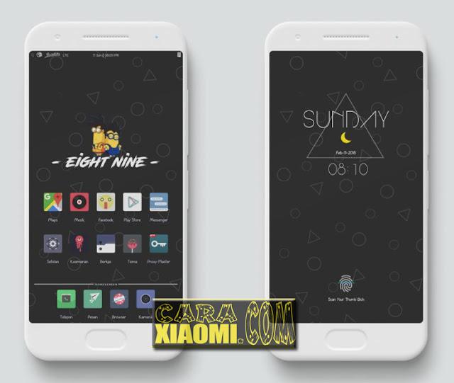 MIUI Theme Korong Hideung Mtz For Xiaomi Terbaru