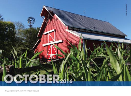 October Coolray Calendar