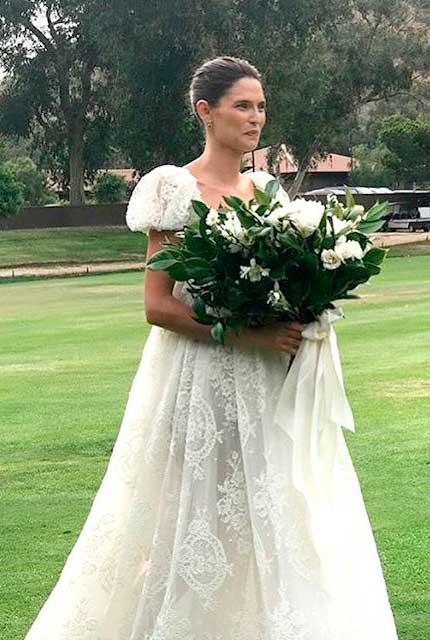 Bianca Balti noiva Dolce & Gabbana