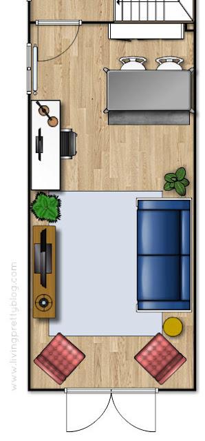 Floor Plan - Living Room Design