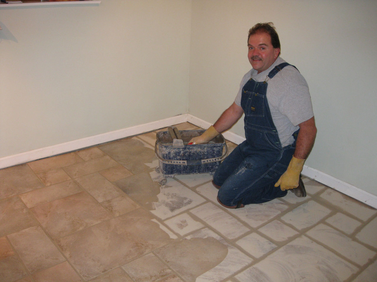 Stephen Jatho Tile Setting
