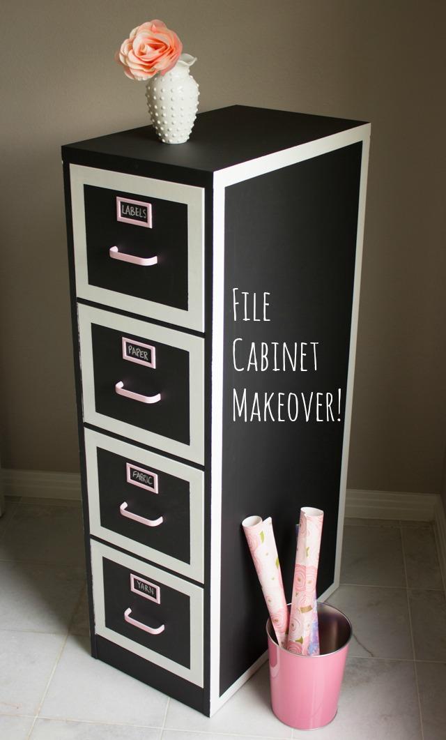 File Cabinet Makeover Design Improvised