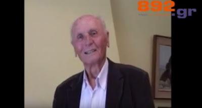 Έφυγε από την ζωή ο Αχιλλέας Πιτούλης - Δείτε τη τελευταία του συνέντευξη