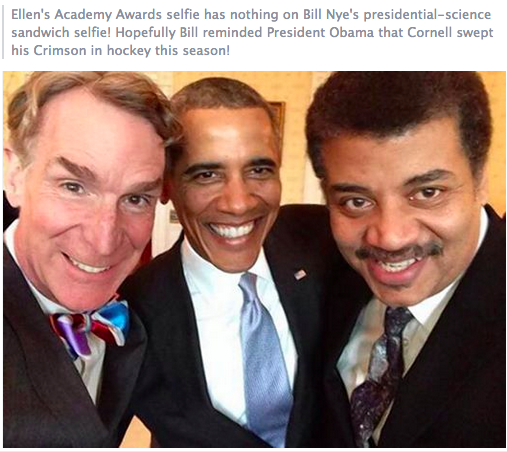 Best Science Selfie ever!