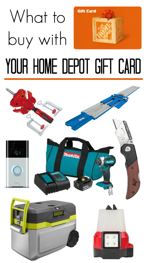 gift card home depot tool gadget list inexpensive round-up best ideas