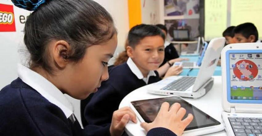 MINEDU: «Observaciones de Contraloría no señalan irregularidades en proceso de compra de tablets»