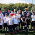 MANCHESTER UNITED PLAYERS JOIN PHYSICALLY/NEUROLOGICALLY CHALLENGED CHILDREN FOR TRAINING